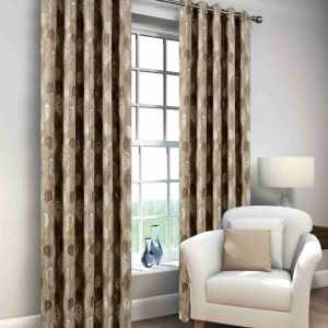Windsor Mink Eyelet Curtain