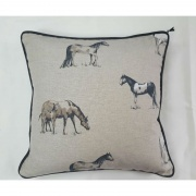 Chevaux Linen Cushion from Interior Fashions, Roscrea