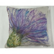 Expressive Thistle Cushion from Interior Fashions