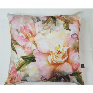 lara coral cushion from Interior Fashions