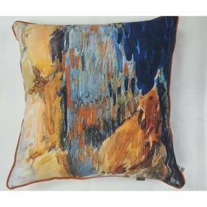 sahara blue cushion from Interior Fashions