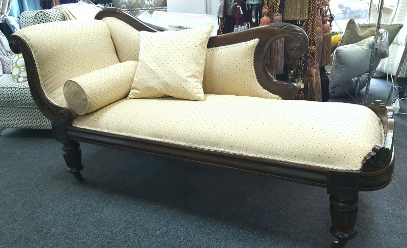 Antique Chaise Long Restoration Project Interior Fashions