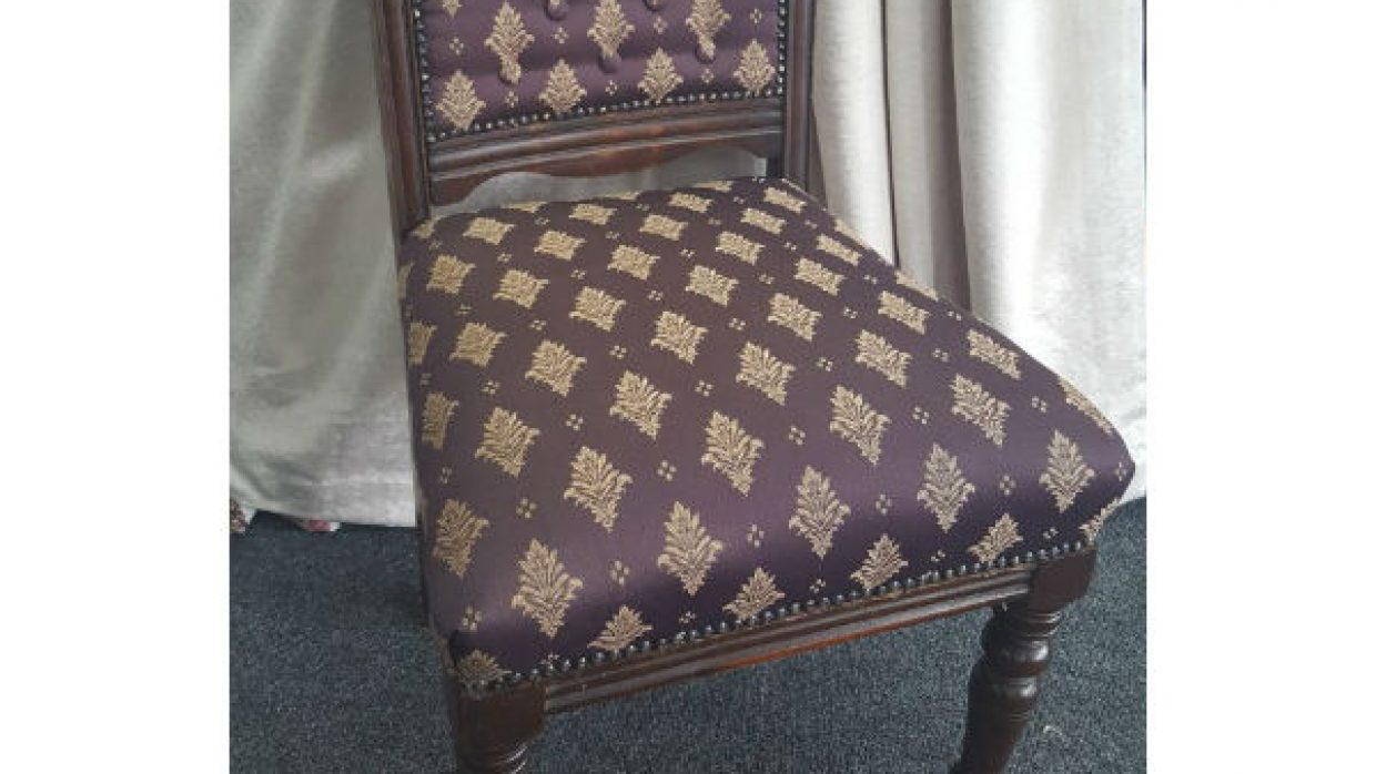 Antique Chair Reupholstery project