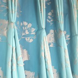 Custom-made silk Curtains