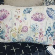 Voyage meadow white cushion
