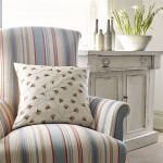 1-sanderson-home-maida-dobby-stripe-fabric-azure-white-red-beige-retro-garden-chair-livingroom