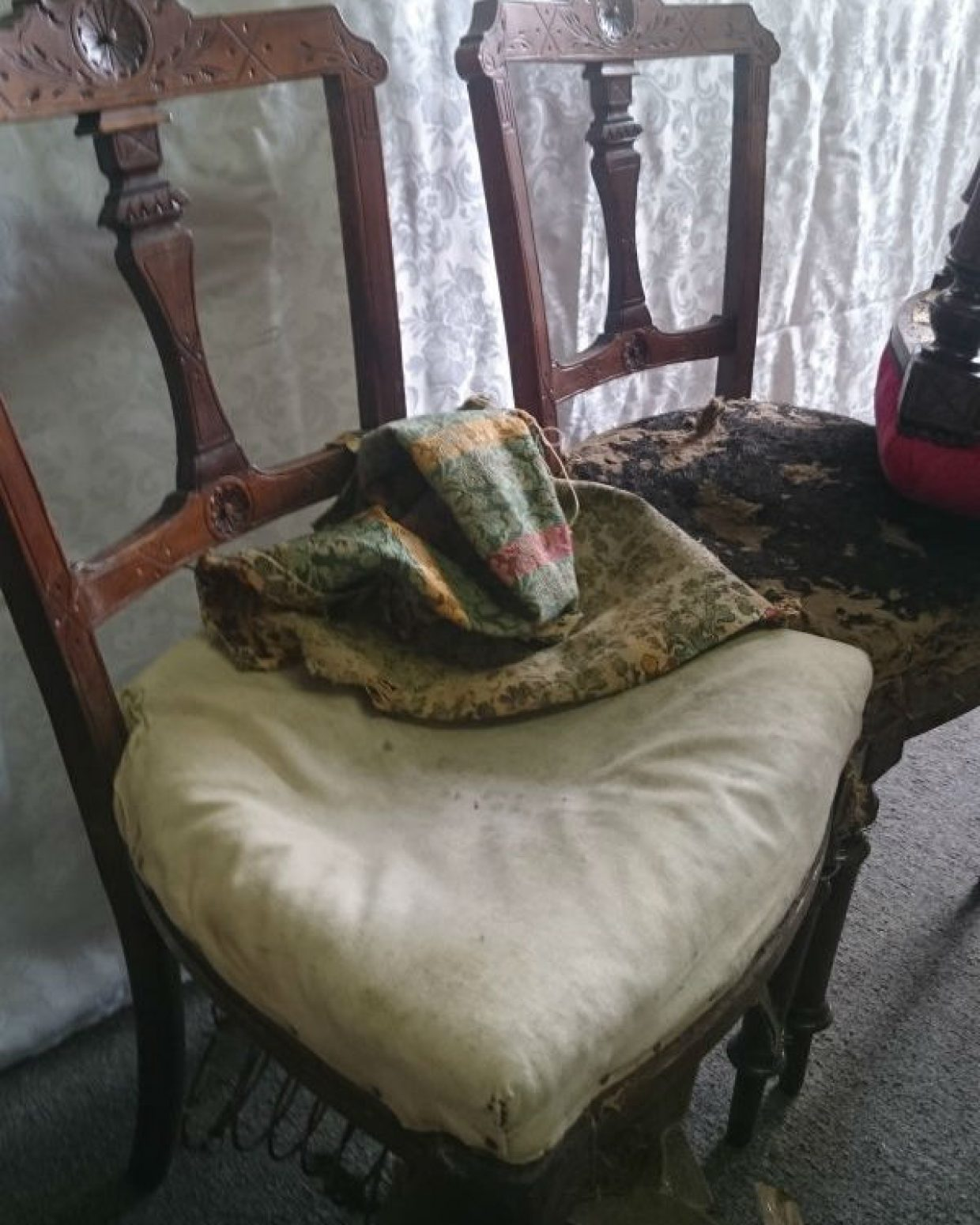 Dining Chair Before Refurbishment