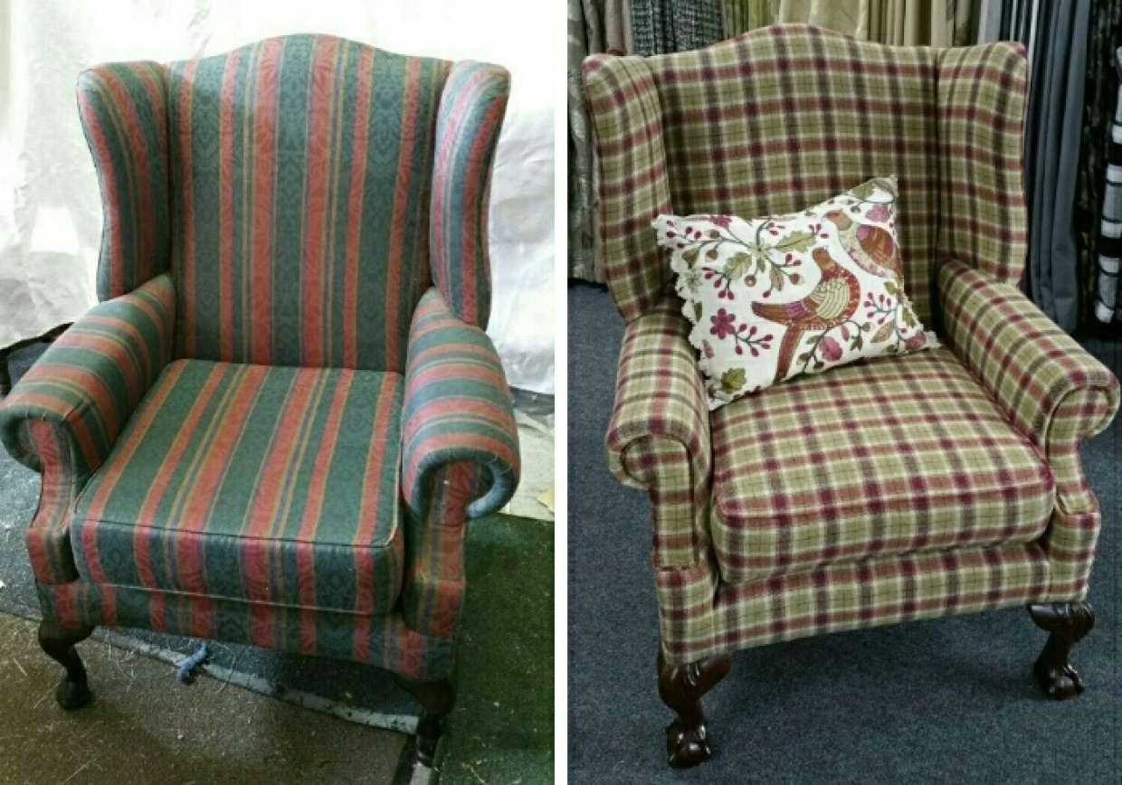 Re-upholstery Project