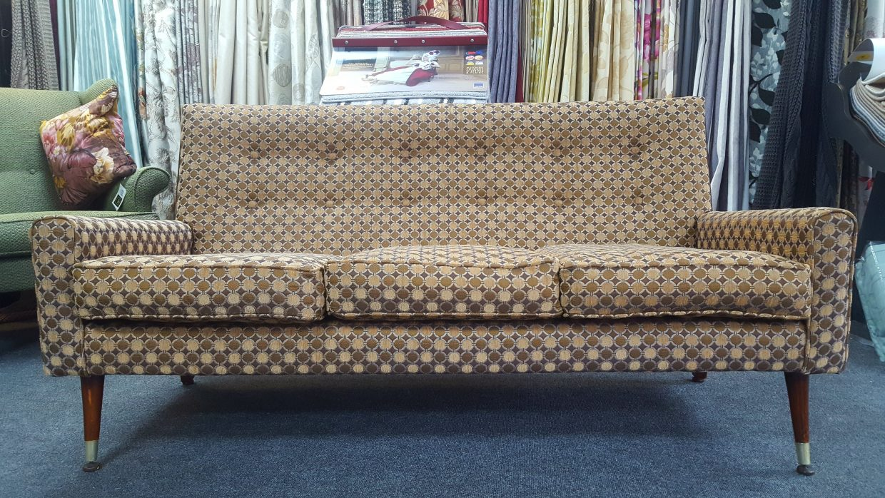 70's style Reupholstery project